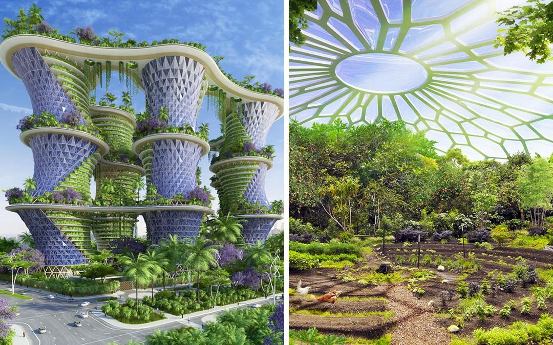 Un écoquartier prêt en 2020, l'Inde se veut pionnière de la «révolution verte»