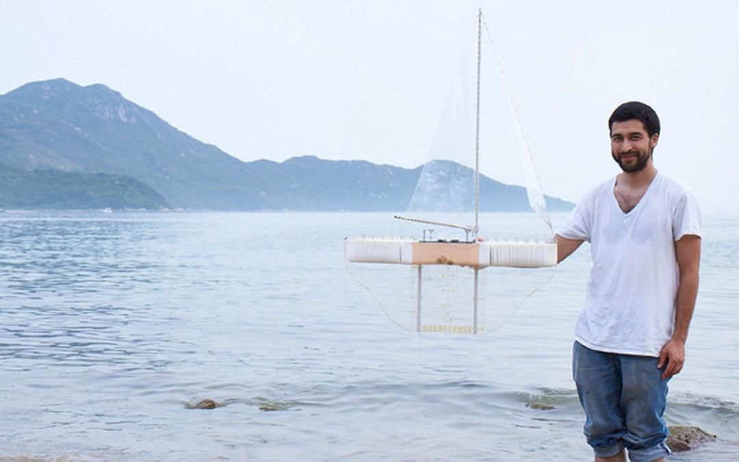 Ce jeune français dépollue les océans grâce à un drone marin !
