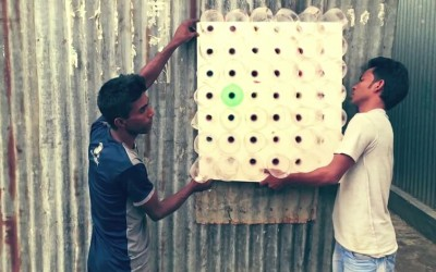 L'éco-cooler: un climatiseur écolo, sans électricité et gratuit!