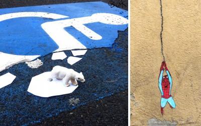 OaKoAk: le street artist qui redonne le sourire aux rues et à votre quotidien